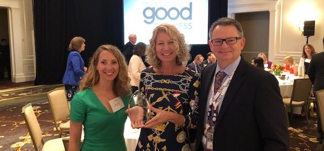 Greater Washington Good Business Award