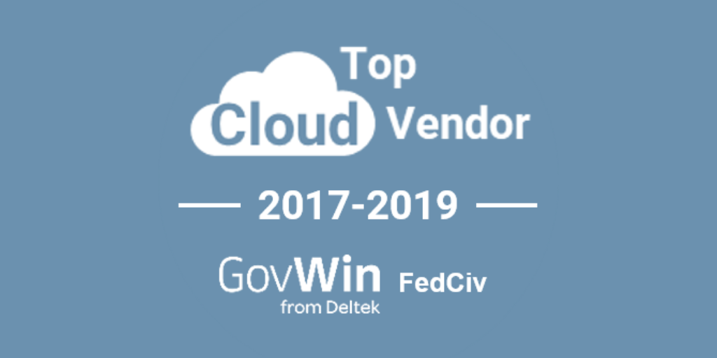 T-Rex Ranked #1 Civilian Cloud Contractor by GovWin from Deltek